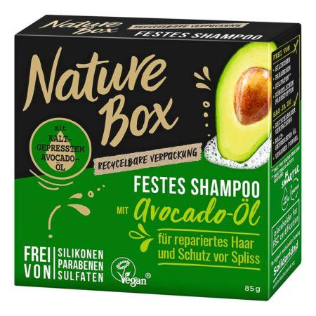 Nature Box Festes Shampoo Avocado 85 g