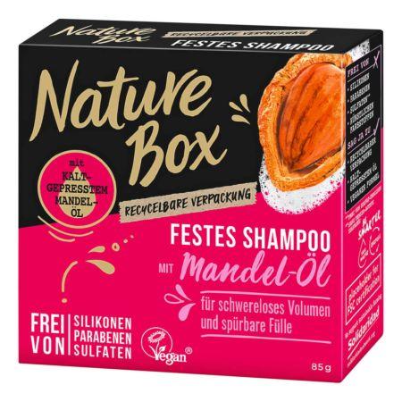 Nature Box Festes Shampoo Mandel 85 g