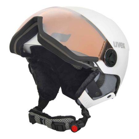 Uvex Skihelm 400 visor style