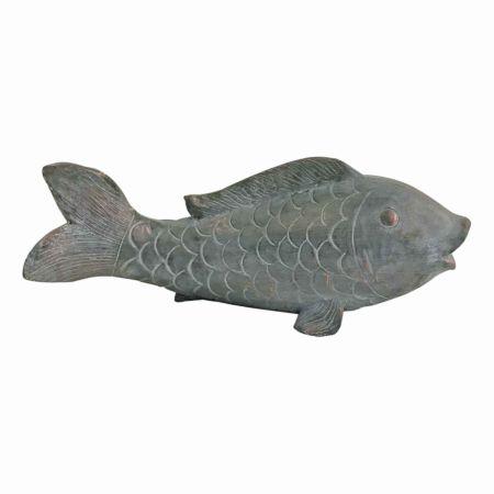 Deko-Figur Fisch 43 x 18 x 14 cm
