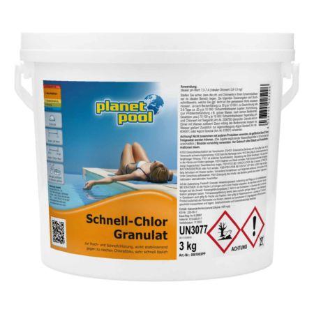 Planet Pool Schnell-Chlor-Granulat 3kg
