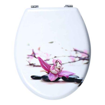 WC-Sitz Orchidee mit Absenkautomatik