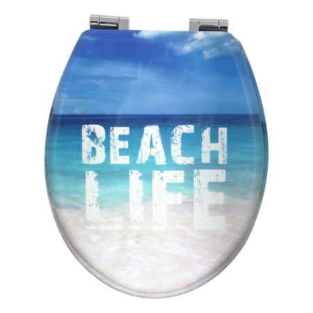 WC-Sitz Beach Life mit Absenkautomatik