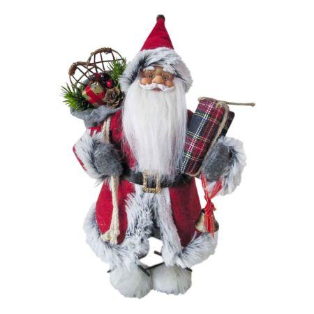Dekofigur Santa stehend 30 cm