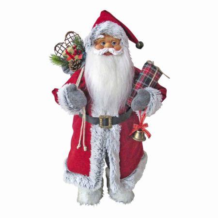 Dekofigur Santa stehend 61 cm