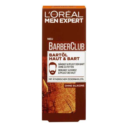 L'Oréal Men Expert Barber Club Bartöl 30 ml