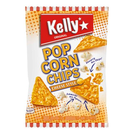 Kelly's Popcorn Chips Cheese 140 g
