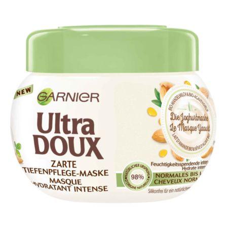 Garnier Ultra Doux Wohltuende Mandelmilch Zarte Tiefenpflege-Maske 300 ml