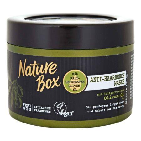 Nature Box Anti-Haarbruch Maske Olive 200 ml