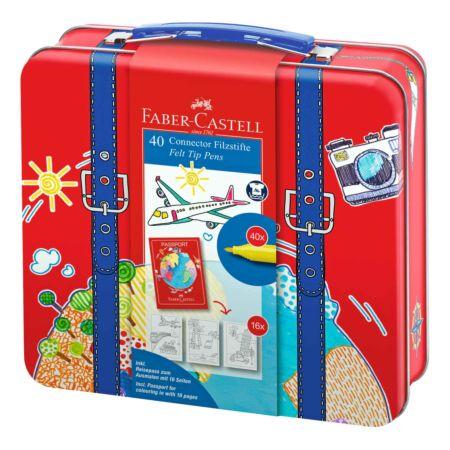 Faber Castell Filzstifte Connector 40 Stück