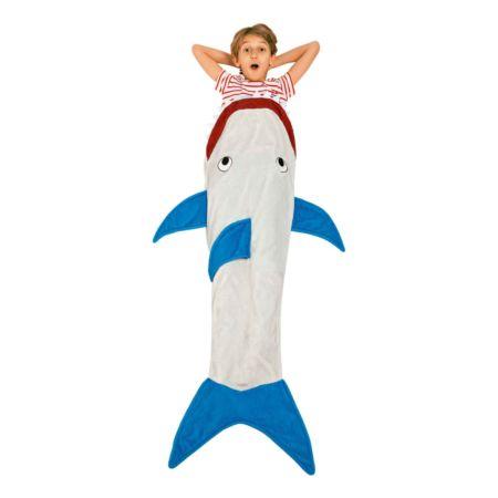 Kinder-Schlafsackdecke Hai