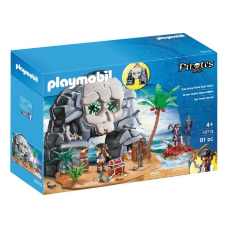PLAYMOBIL Take Along Pirate Skull Island (70113)