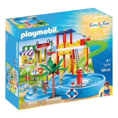 PLAYMOBIL Aquapark mit Café (70115)