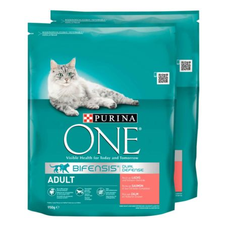 Purina ONE Adult Lachs&Vollkorn 2 x 600 g