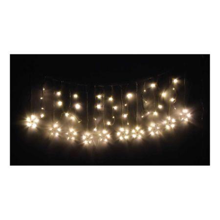 Lichterkette Sterne warmweiss