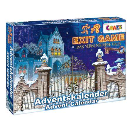 Craze Adventskalender Exit Game - Das verwunschene Haus