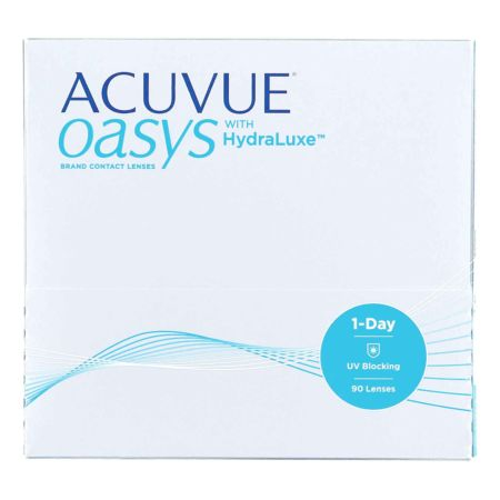 1-Day Acuvue Oasys with Hydraluxe 90 Linsen