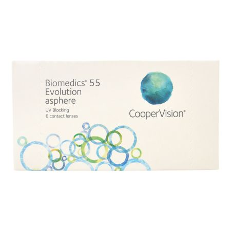 Biomedics 55 Evolution 6 Linsen