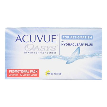 Acuvue Oasys for Astigmatism 12 Linsen