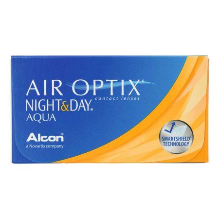 Air Optix Night and Day Aqua 6 Linsen