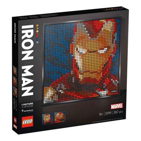 Lego Art Set Marvel Studios Iron Man (31199)