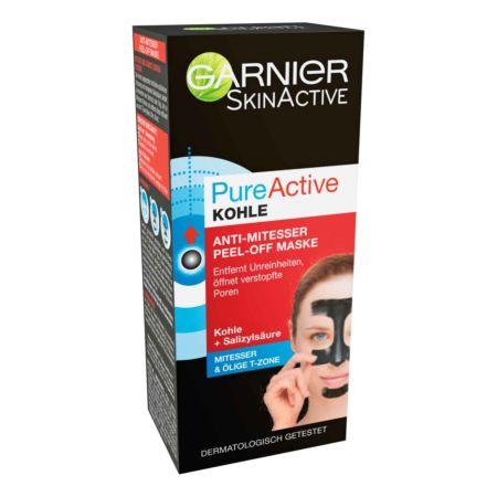 Garnier SkinActive PureActive Kohle Anti-Mitesser Peel-Off Maske 50 ml