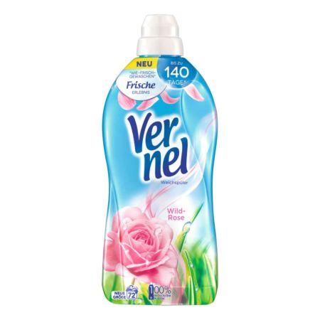 Vernel Weichspüler Wildrose 72 Waschgänge