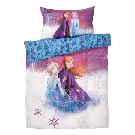 Bettwäsche Frozen mit Elsa und Anna