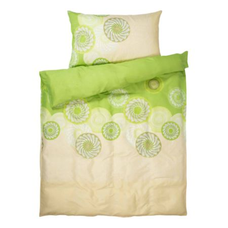 Bettwäsche grün mit Mandalas