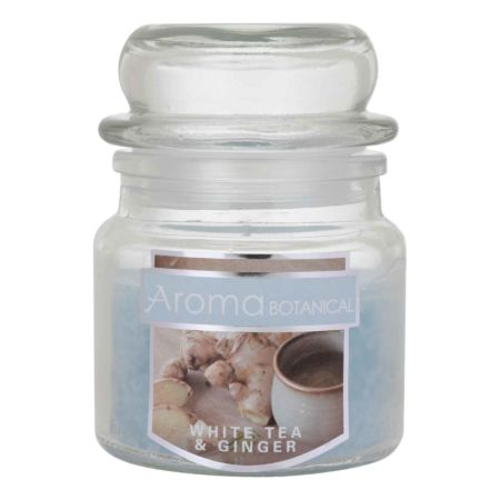 AROMA BOTANICAL White Tea & Ginger Duftkerze im Glas Ø 6 x 7 cm