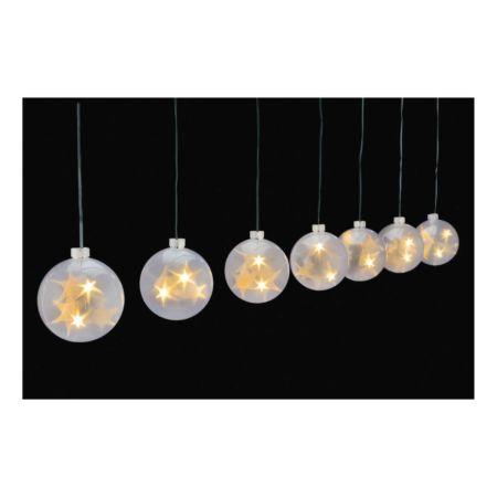LED-Weihnachtslichterkette weiss