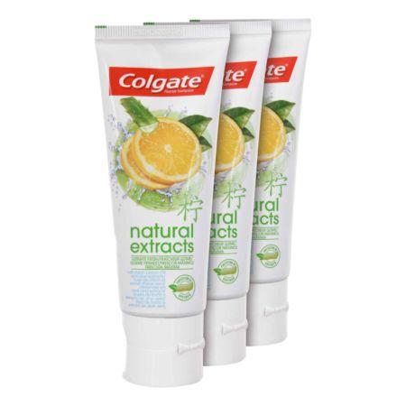 Colgate Zahnpasta Naturals Fresh 3 x 75 ml