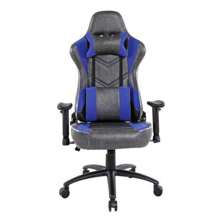 Gaming-Stuhl Nitro PU anthrazit/blau