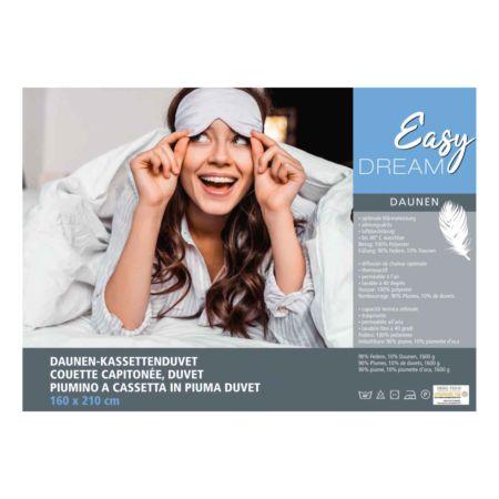 Easy Dream Daunen-Kassettenduvet