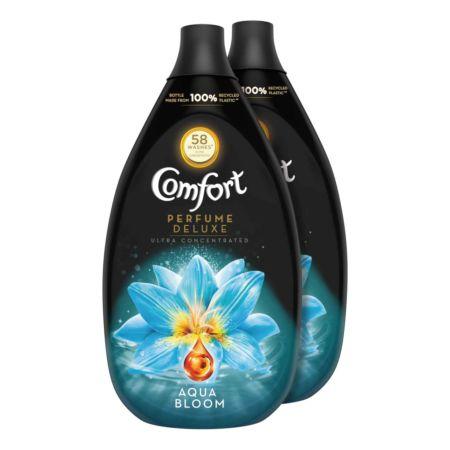 Comfort Weichspüler Perfume Deluxe Aqua Bloom 2 x 58 Waschgänge