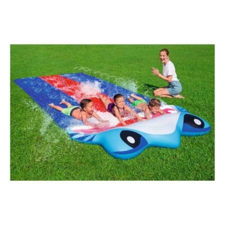 Bestway Wasserrutsche Triple Slide Shark
