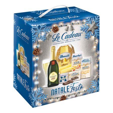 Geschenkkorb Natale Pandoro 5-tlg.