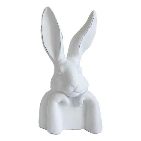 Deko-Figur Hase sitzend 23 x 37 cm