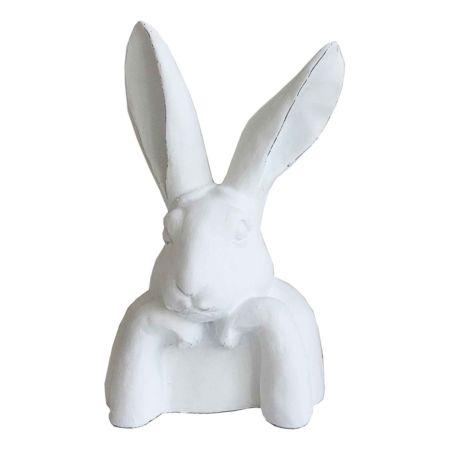 Deko-Figur Hase sitzend 16 x 30.5 cm