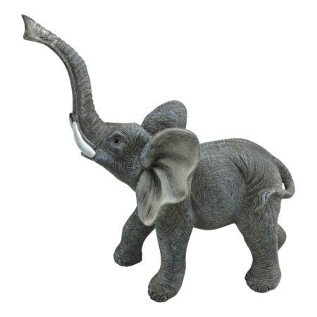 Deko-Figur Elefant 21.5 x 10 x 22.5 cm