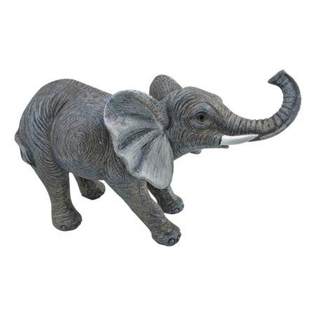 Deko-Figur Elefant 22.5 x 9.5 x 14 cm