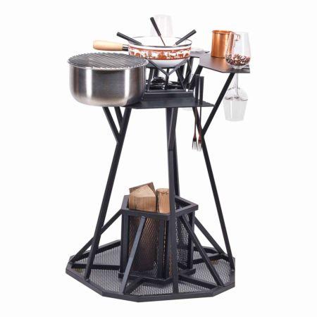 Nouvel Fonduebar Grill & Cooking Modern Winter, Set 17-teilig