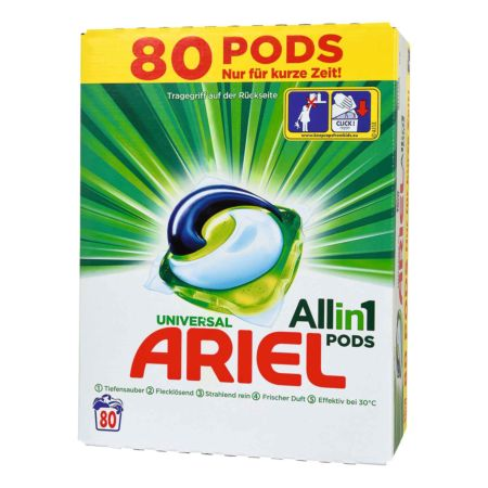 Ariel All-in-1 Pods Universal 80 Wäschen