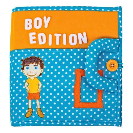 Quiet Book Stoffbuch Boy Edition