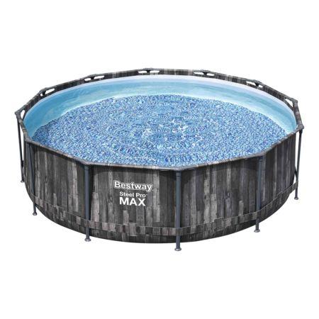 Bestway Pool S-Pro Max Wood 366 x 100 cm