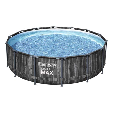 BESTWAY Pool S-Pro Max Wood 427 x 107 cm