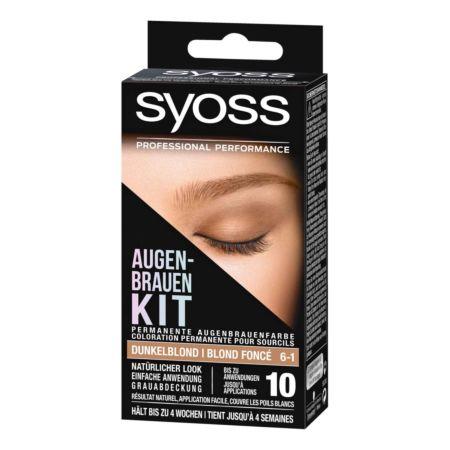 Syoss Augenbrauen Kit Dunkelblond 6-1 10 ml