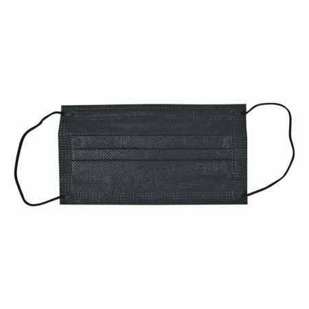 Hygienemasken 3-lagig schwarz 10 Stück