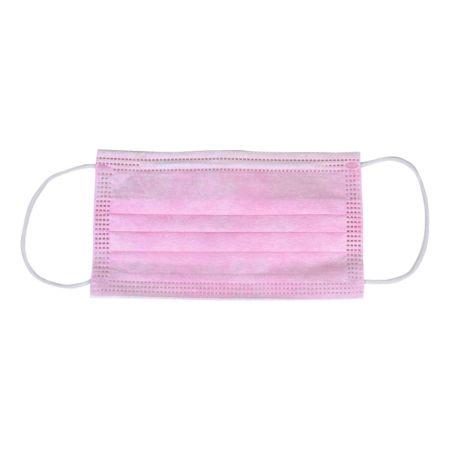 Hygienemasken 3-lagig pink 10 Stück