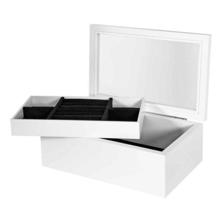 Schmuckbox mit 2 Fächern